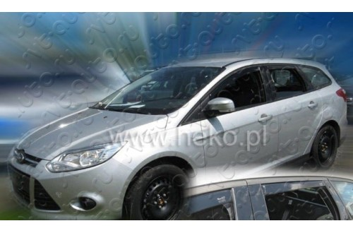 Вставные дефлекторы окон Ford Focus 3 универсал