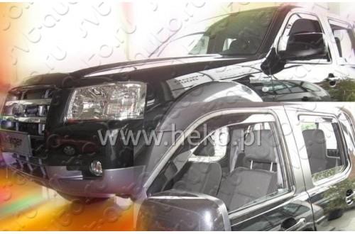 Вставные дефлекторы окон Ford Ranger 2