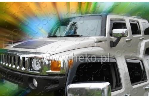 Вставные дефлекторы окон Hummer H3