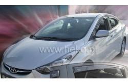 Вставные дефлекторы окон Hyundai Elantra 5 седан