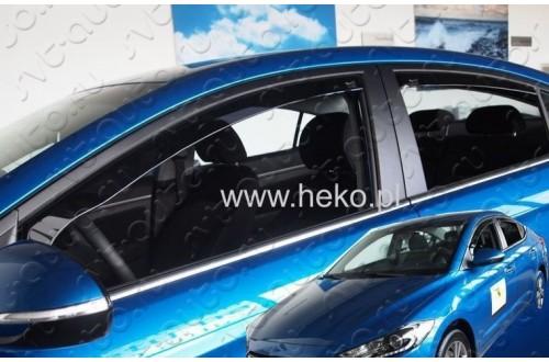 Вставные дефлекторы окон Hyundai Elantra 6 седан