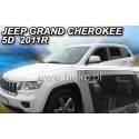 Вставные дефлекторы окон Jeep Grand Cherokee WK2