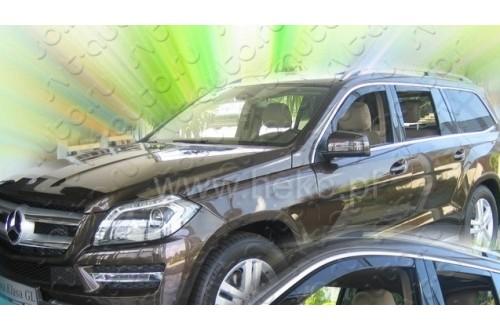 Вставные дефлекторы окон Mercedes Benz GL X166