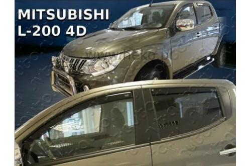 Вставные дефлекторы окон Mitsubishi L200 5
