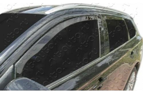Вставные дефлекторы окон Mitsubishi Outlander 3
