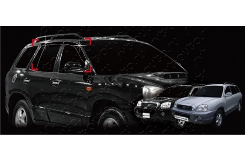 Дефлекторы окон Hyundai Santa Fe Classic ТагАЗ