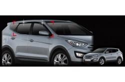 Дефлекторы окон  Hyundai Santa Fe III