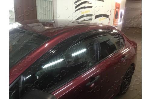 Дефлекторы окон Mugen Honda Civic седан