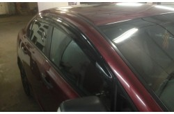 Дефлекторы окон Mugen Honda Civic 4D
