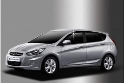 Дефлекторы окон Hyundai Solaris хетчбэк