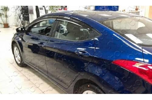 Дефлекторы окон Hyundai i40