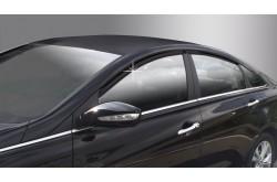 Дефлекторы  окон Hyundai Sonata YF
