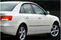 Дефлекторы  окон Hyundai Sonata NF