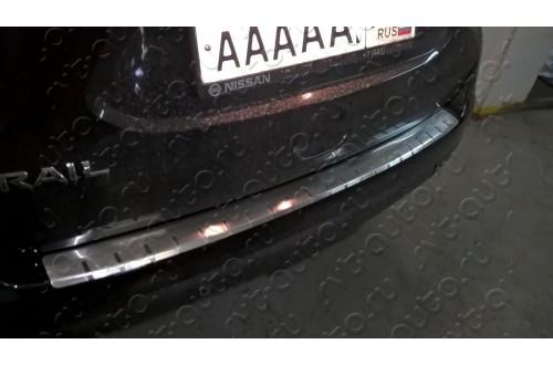 Накладка на бампер Nissan X-Trail T32