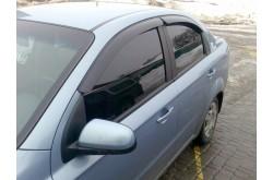 Дефлекторы окон автокловер Chevrolet Aveo