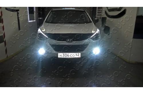 Дневные ходовые огни с ПТФ Hyundai ix35