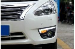 Дневные ходовые огни Nissan Teana