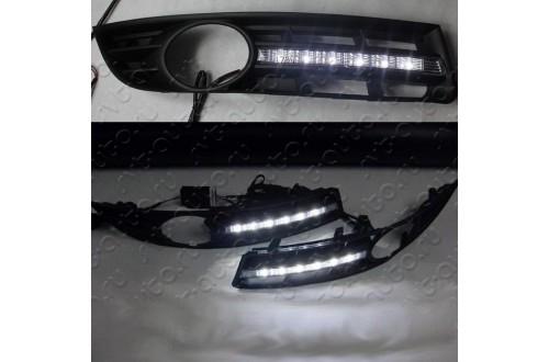 Дневные ходовые огни Volkswagen Passat B6