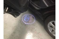 Проекция логотипа Toyota