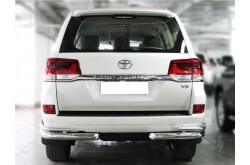 Защита бампера (уголки) Toyota LandCruiser 200 2015
