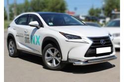 Защита переднего бампера Lexus NX