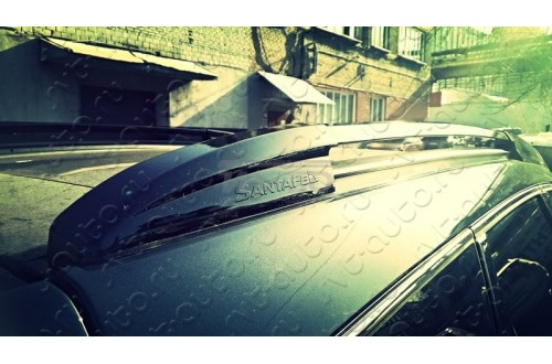 Рейлинги на крышу Hyundai Santa Fe III