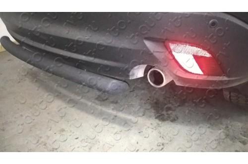 Защита заднего бампера Mazda CX-5