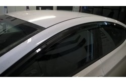 Дефлекторы окон Hyundai Solaris седан