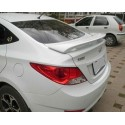 Спойлер на крышку багажника Hyundai Solaris спорт
