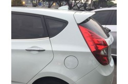 Спойлер на крышку багажника Hyundai Solaris hb