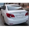 Спойлер на крышку багажника Hyundai Elantra 4