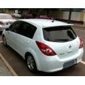 Спойлер  Nissan Tiida